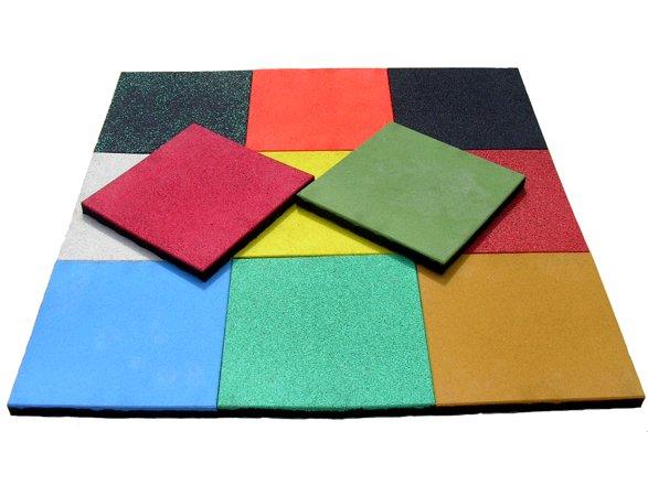 Покрытие - резино-полимерные плиты